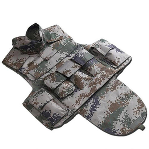 Full Protection Camouflage Bulletproof Vest Aramid for Police